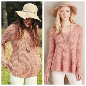 anthropologie moth zip sweater